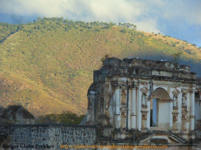 Church remant facade