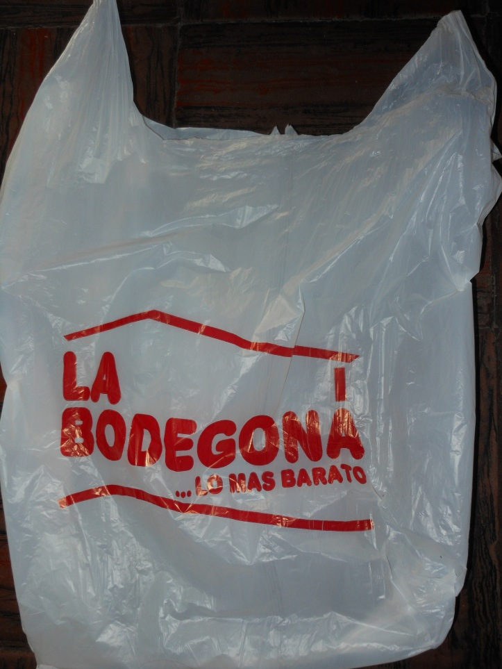 The only supermarket in Antigua, Guatemala