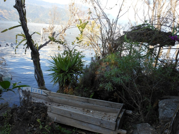 Casa Rosario private dock to the lake