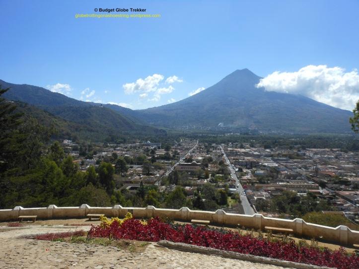 Cerra de la cruz overlooking Antigua