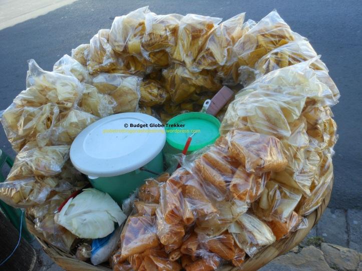 Yuca fritta chips