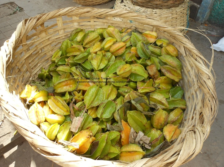 Postcards from the road: exotic tropical fruit - Carambola/starfruit