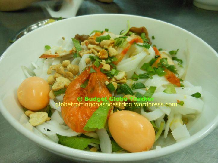 Mỳ Quãng a Đà Nẵng specialty