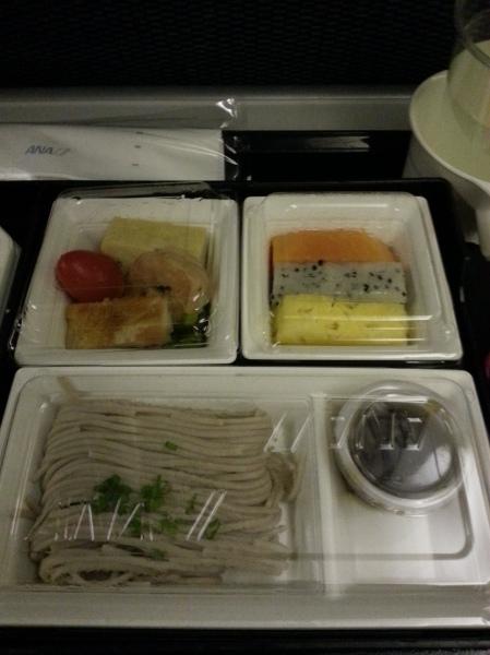 ANA Yangon-Narita route meal 2