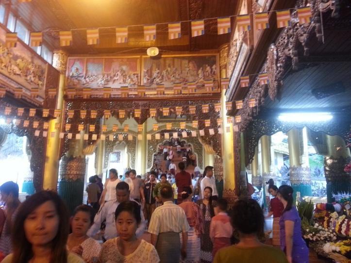 ShweDaGon Paya (Pagoda) 1