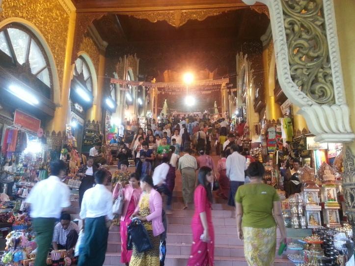 ShweDaGon Paya (Pagoda) 2
