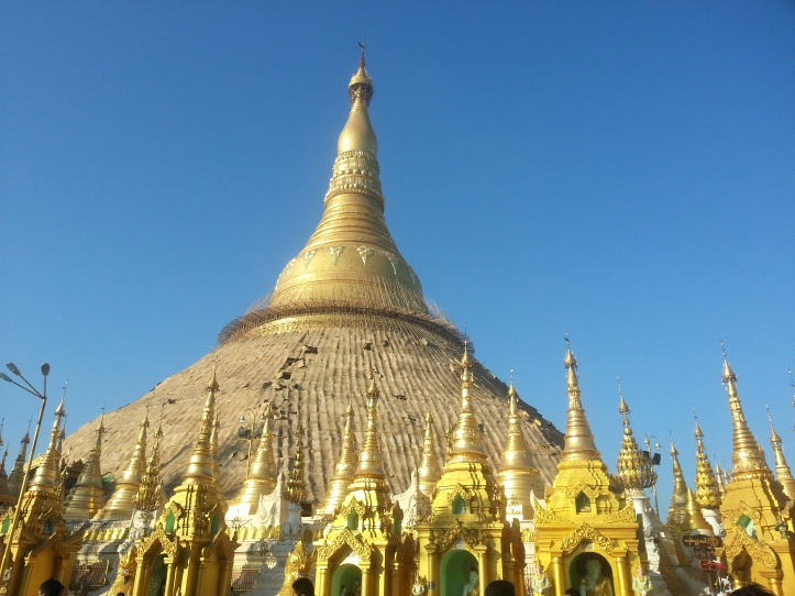 ShweDaGon Paya (Pagoda) -main temple