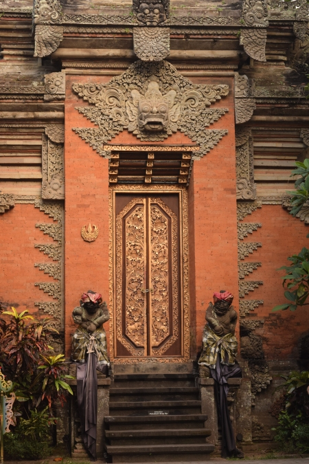 Door to Ubud Royal Palace